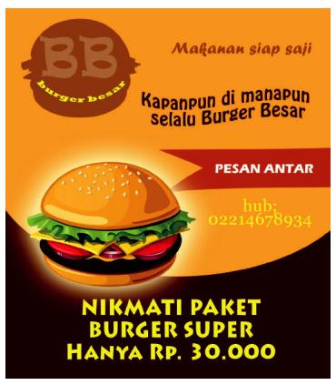 Materi Pelajaran 8 Contoh Gambar Iklan Produk Makanan