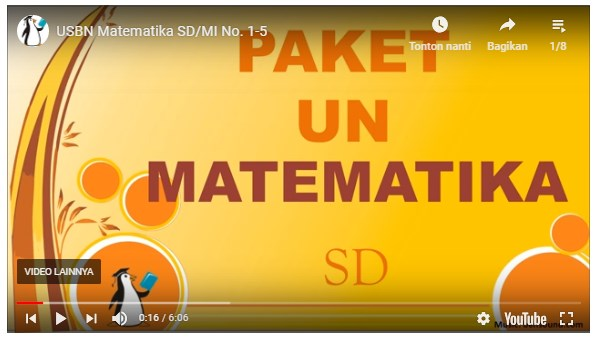 USBN Matematika SD/MI Kelas 6 – Edu Penguin